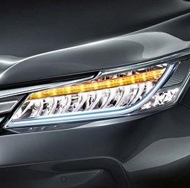 Honda Accord Hybrid Exterior - Automatic led headlamps with integrated LED DRL