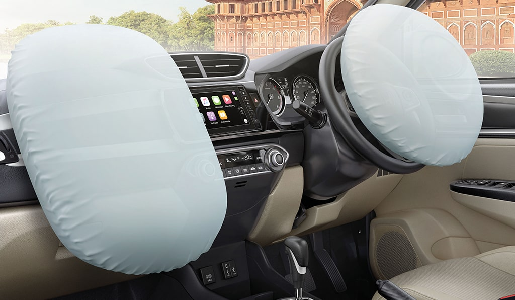 Honda Amaze Safety - Dual Airbags