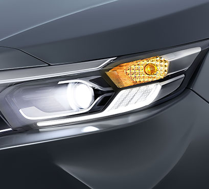Honda Amaze - HeadLamp Integrated Signature LED Position Lights