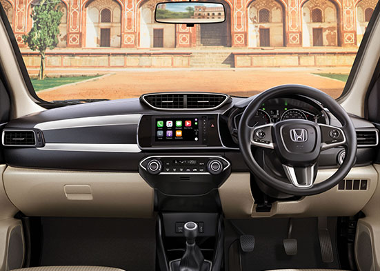 Honda Amaze-New Premium 3D Speedometer with Multi Information Display