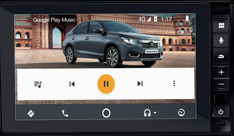 Honda Amaze-Media Player (Android Auto)