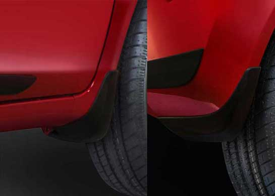 Honda Brio - Mud Guard Set (Front & Rear)