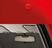 Honda Brio - Parking Sensors with Display on IRVM