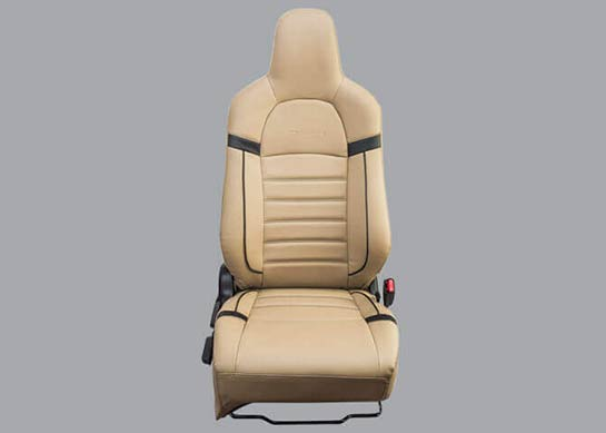 Honda Brio - PVC Horizontal Stitch with Black Piping