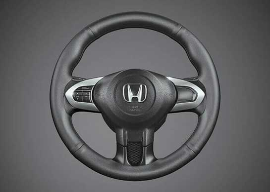 Honda Brio - Steering Wheel Cover Plain Black