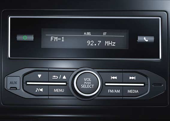 Honda Brio-Advanced Integrated Audio With Bluetooth, USB & Aux-In