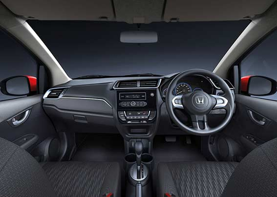 Honda Brio-New Premium Dashboard with Carbon Finish