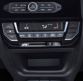 Honda Brio-Digital AC Controls With Max Cool Function