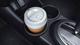 Honda Brio-FLOOR CONSOLE DRINK HOLDER