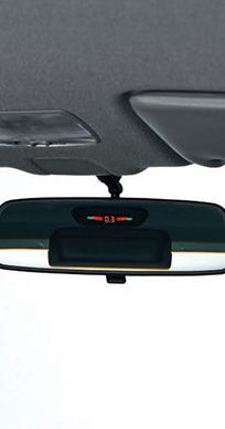 Honda-BRV-PARKING SENSOR WITH DISPLAY ON IRVM