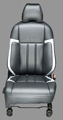 Honda BRV Accessory - Kit Seat Cover PVC with Silver Stripes
