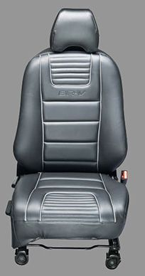 Honda-BRV-KIT SEAT COVER PVC WITH SILVER PIPING