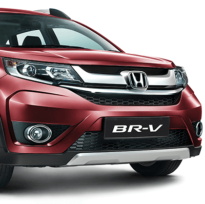 Honda BRV Exterior - Solid Wing Front Face