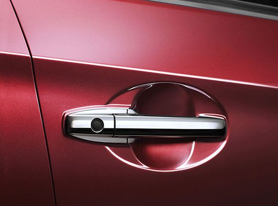 Honda-BRV-Chrome door handles