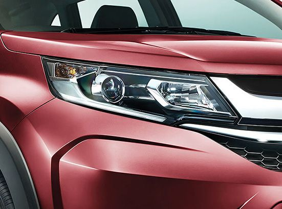 Honda BRV Exterior - Projector Headlamps with Led Position Lamps