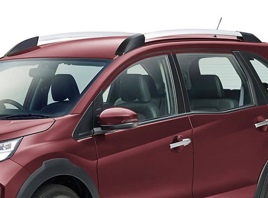 Honda-BRV-Silver Finish Roof Rails