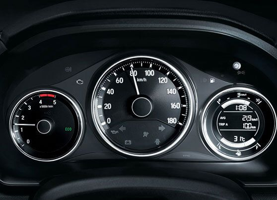 Honda-BRV-3D speedometer with multi-information display