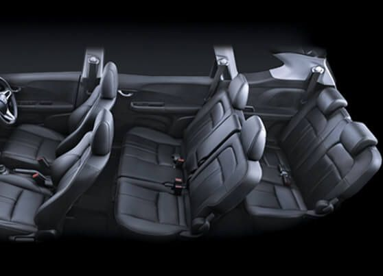 Honda-BRV-3 row premium leather seating
