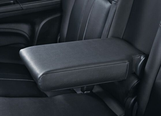 Honda BRV Interior - Comfortable 2nd Row Leather Arm Rest
