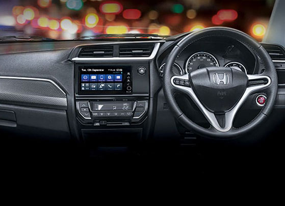 Honda-BRV-Dashboard