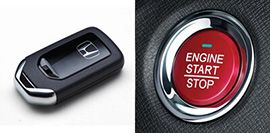 Honda-BRV-Push start/ stop with smart entry