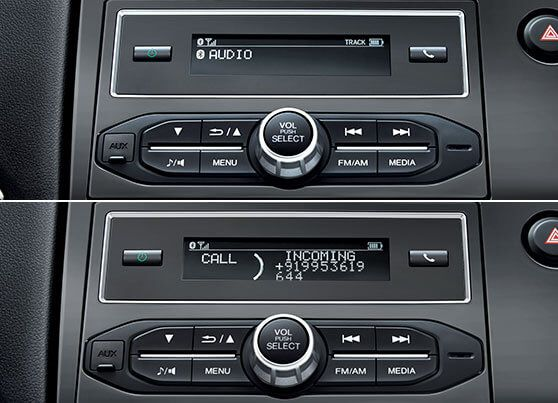 Honda-BRV-Bluetooth Audio with Hands-free Telephone