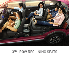 Honda-BRV-ONE 3RD ROW RECLINING SEATS