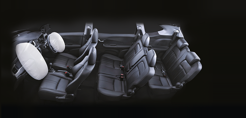 Honda BRV Safety - Dual SRS Airbags