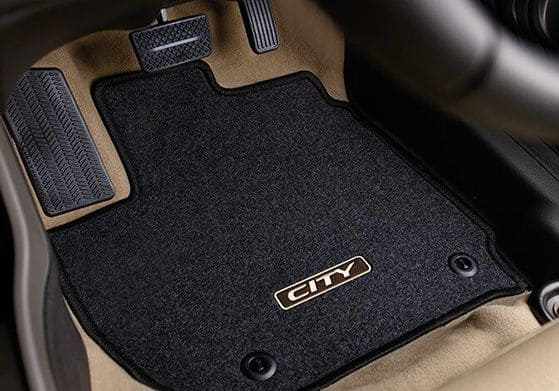 Honda-City-Floor Mat [black]