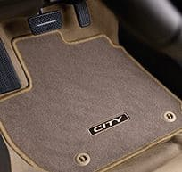 Honda-City-Floor Mat [beige]