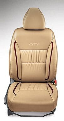 Honda City Accessory - Seat Cover PV Gathering with Woody Stripes