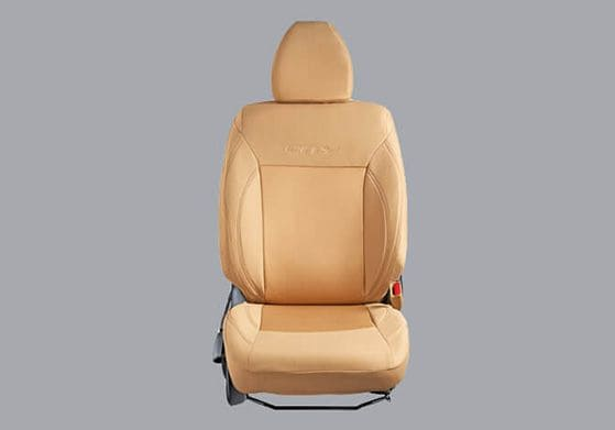 Honda-City-Seat Cover Fabric Beige Fusion
