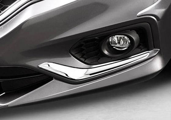 Honda City Chrome Kit - Front Bumper Side Garnish