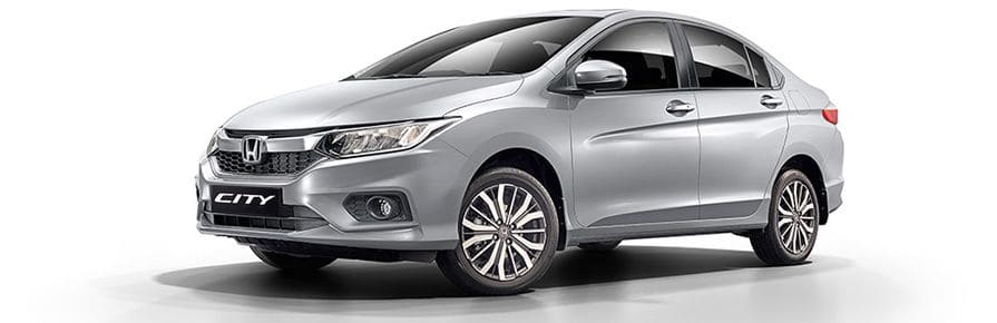 Honda City Colour - Lunar Silver Metallic