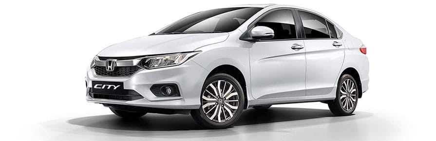 Honda City Colour - White Orchid Pearl