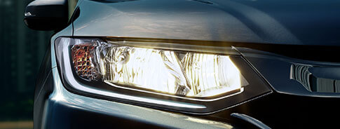 Honda City Exterior - Premium Dual-Barrel Halogen Headlamps With Integrated LED DRL