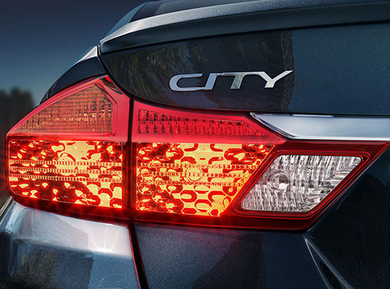 Honda City Exterior - Advanced Wrap Around Rear Combi Lamp