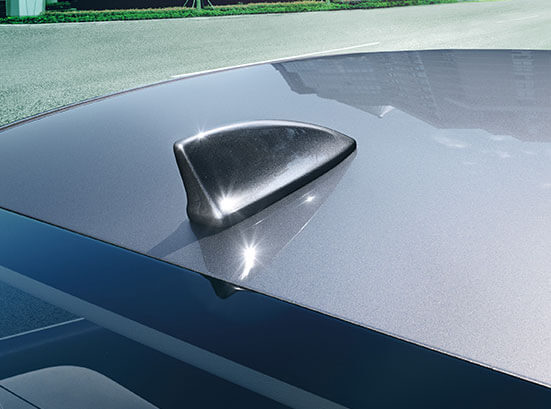 Honda City Exterior - Shark Fin Antenna