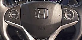 Honda City Interior - Multifunction Steering Wheel