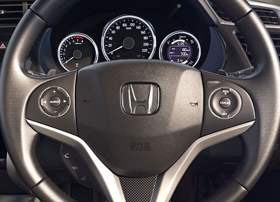 Honda-City-Multifunction Steering Wheel