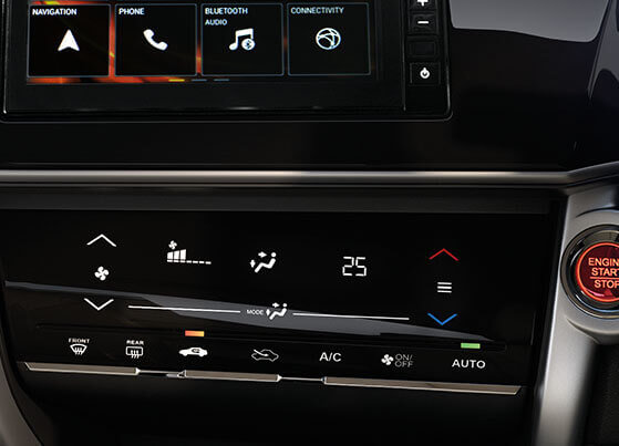 Honda City Interior - Auto AC with Touch Control panel