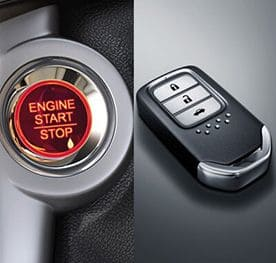 Honda City Interior - Engine Start / Stop & Honda Smart Key System
