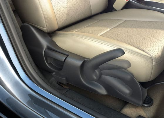 Honda City Interior - Driver Seat Height Adjuster