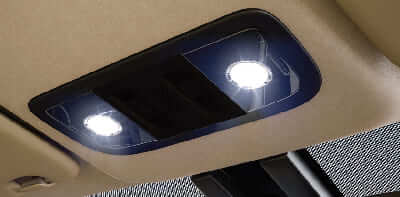 Honda City Interior - LED Map Lamps