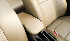 Honda City Interior - Front Center Armrest With Storage
