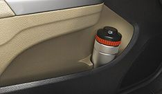 Honda City Interior - Front Door Bottle Holder