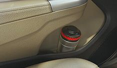 Honda City Interior - Rear Door Bottle Holder