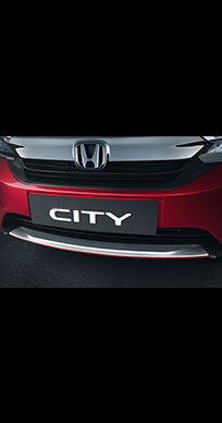Honda City 2020 Model Chrome Kit - Elegance - Front Bumper Centre Garnish