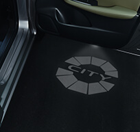 New Honda City Car Accessory - City Logo Projector