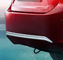 New Honda City Car Accessory - Rear Bumper Centre Garnish